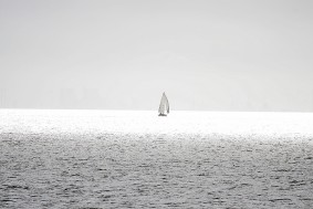 Segelschiff (Die Überfahrt von der Insel Juist auf das Festland)