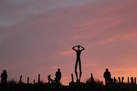 Uitkieker (Skulptur auf Spiekeroog)