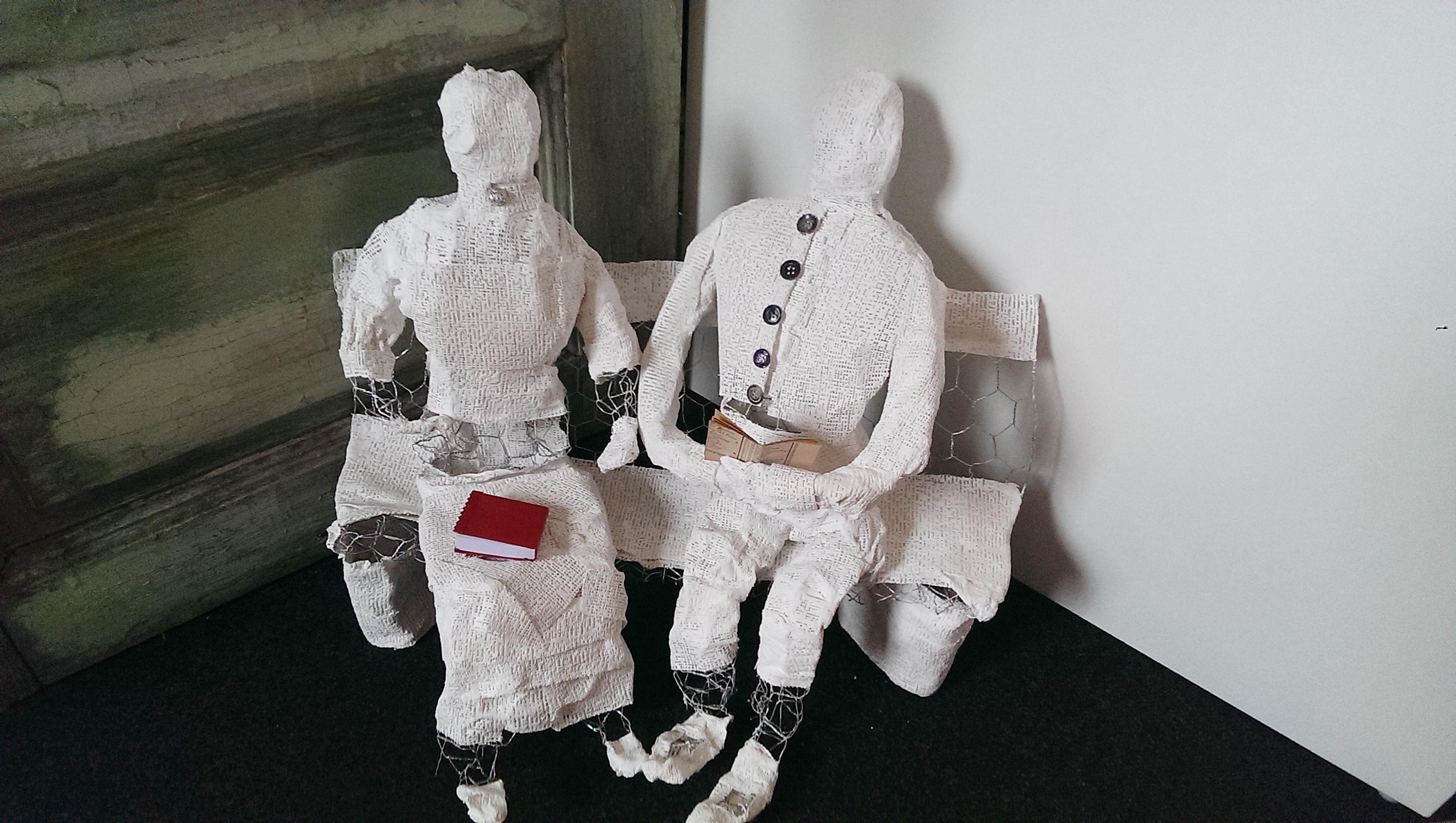 Gipsfiguren mit Maschendraht - Fotografie und Kunst aus ...